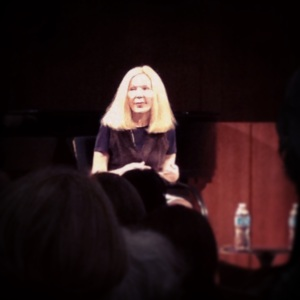 Katherine Boo at the Brooklyn Public Library on Sunday, April 13, 2014.
