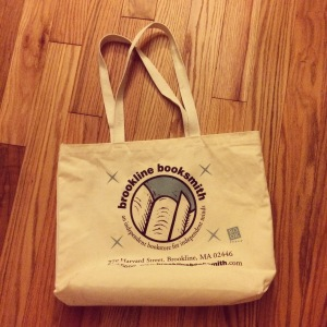 ANOTHER brookline booksmith tote